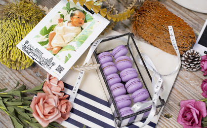 CVG Macarons Gift Box (Glass Box)