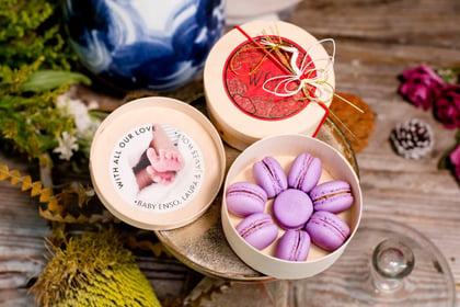 Jouer Chinese Ginger Vinegar Macaron Gift Set in Bamboo Box