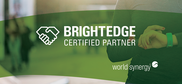 World Synergy becomes a certified BrightEdge SEO Partner