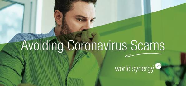 COVID 19 coronavirus email spam example