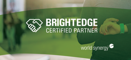 World Synergy Becomes a BrightEdge Certified Partner