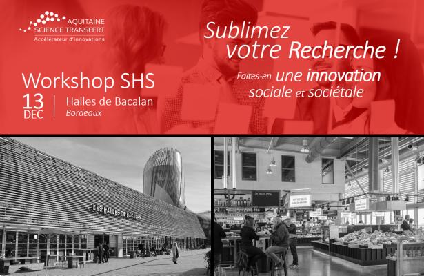 WORKSHOP SHS 2019 : SUBLIMEZ VOTRE RECHERCHE !