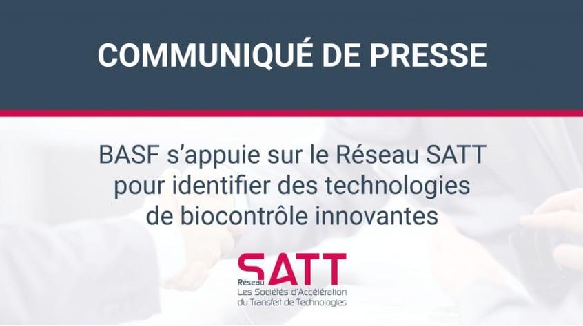 BASF s'appuie sur le Réseau SATT pour identifier des technologies de biocontrôle innovantes