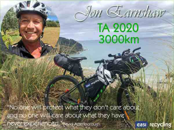 Cycling & Recycling 3,000 km through NZ – Cape Reinga to Bluff