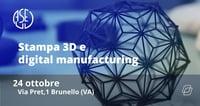 CIO e Stampa 3D: l'aperitivo tecnologico di AUSED il 24 ottobre a Varese