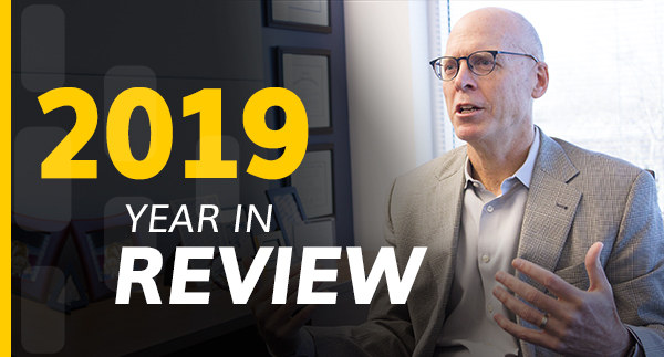 A Message from President Tom Callahan: 2019 in Review