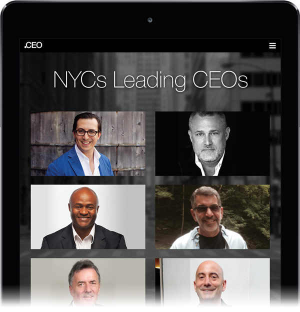 Leading New York CEO
