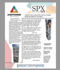 SPX using creative packaging, innovative packaging from a packaging partner and a packaging company near me