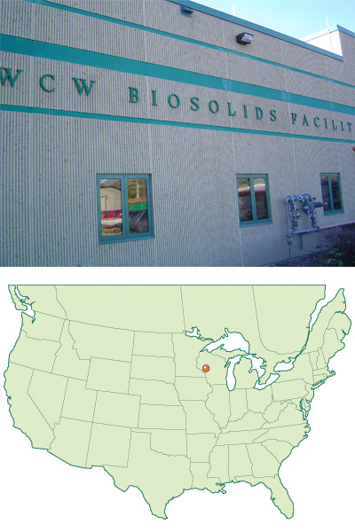 Schwing Bioset has completed start-up of a new Bioset Class A lime stabilization system at the West Central Wisconsin Biosolids Facility (WCWBF) located in Ellsworth, WI.