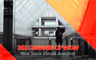 360 Degrees of Wow: New Stock Videos Available