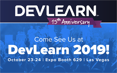 Come See Us at DevLearn 2019