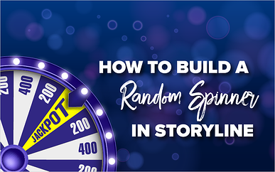 How to Build a Random Spinner in Storyline