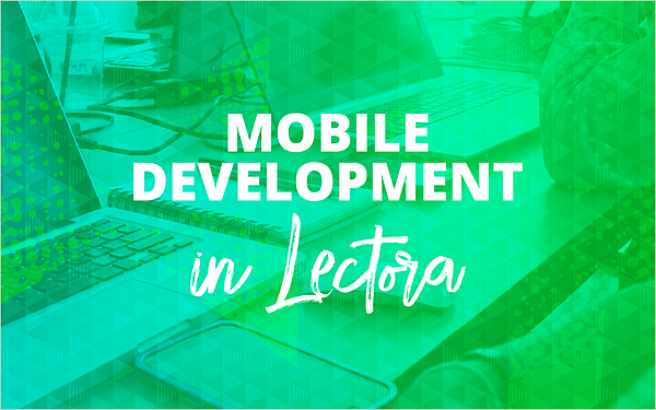 Mobile Development in Lectora