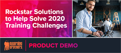 Webinar: Rockstar Solutions to Help Solve 2020 Training Challenges