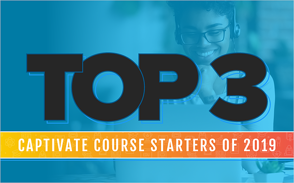 Top 3 Captivate Course Starters of 2019_Blog Featured Image 800x500