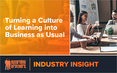 Webinar: Turning a Culture of Learning into Business as Usual