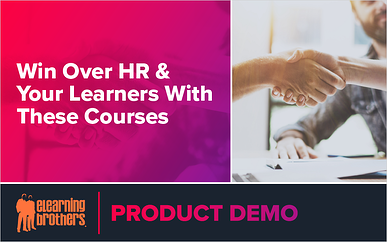 Webinar: Win Over HR & Your Learners With These Courses