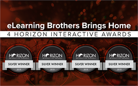 eLearning brothers Brings Home 4 Horizon Interactive Awards
