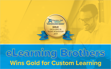 eLearning Brothers Wins Gold for Custom Learning