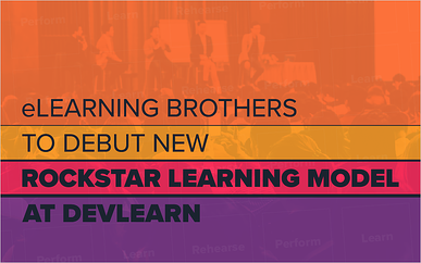 eLearning Brothers to Debut New Rockstar Learning Model at DevLearn