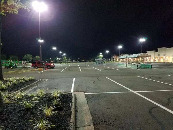Press Release: Parking Lot Lighting at Oak Springs Gets a Makeover