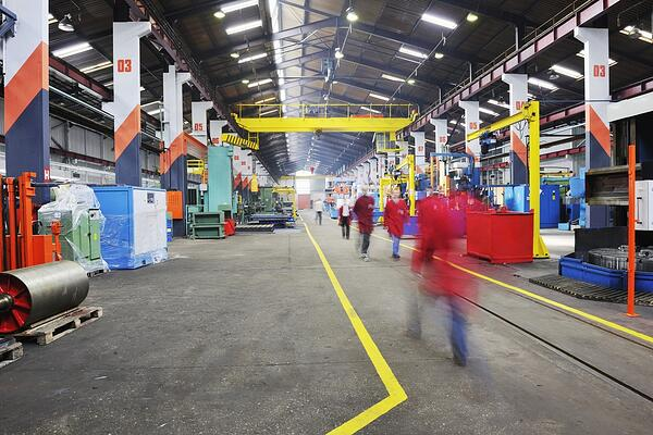 Benefits of Industrial LED Lighting: Savings, Safety, & Productivity