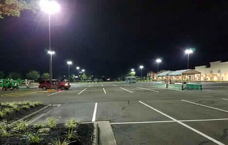 Three Common Issues with Conventional Old Parking Lot Lights