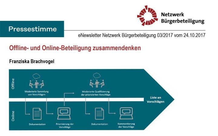 Offline- und Online-Beteiligung zusammendenken