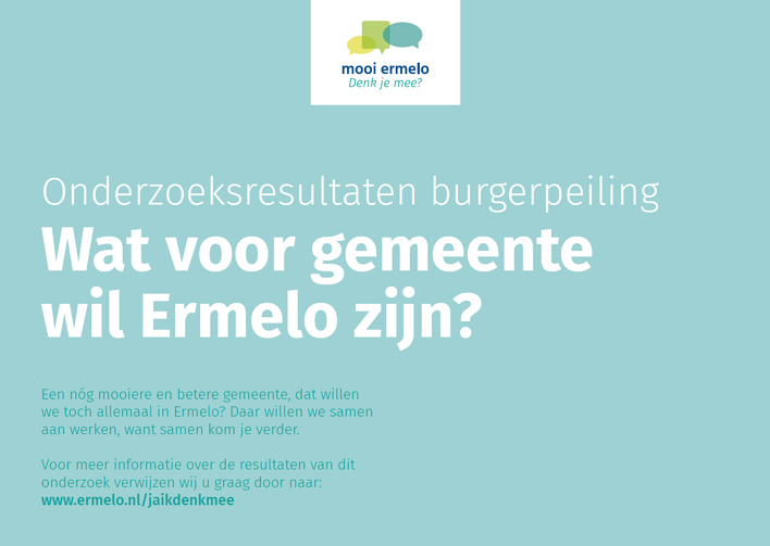 Gemeente Ermelo laat burgers meedenken via Burgerpeiling Ermelo