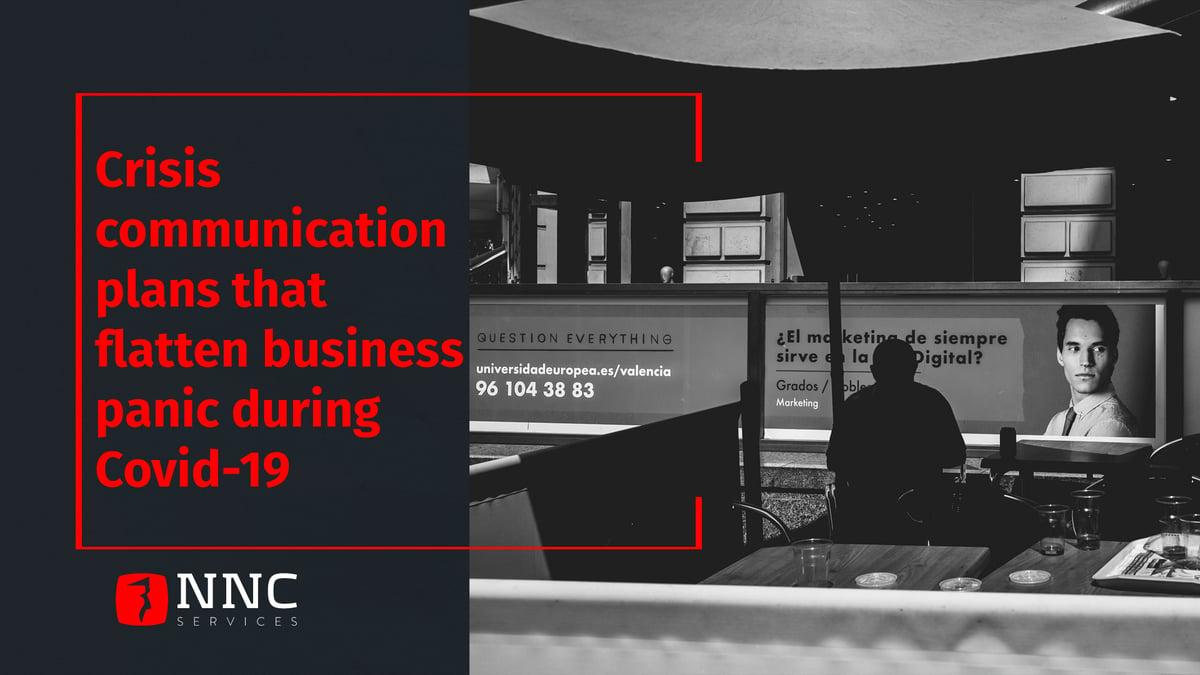 NNC Services crisis communication plans during Covid-19