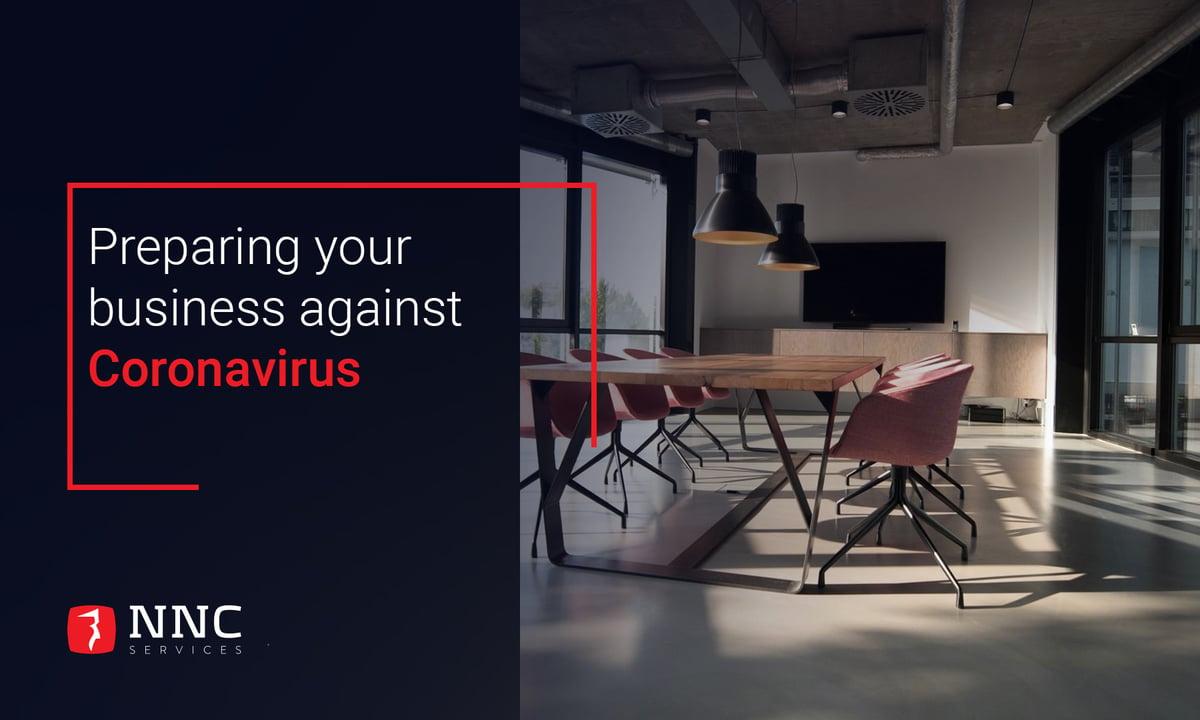 NNC Sevices- Preparing your business against Coronavirus