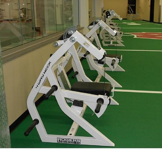 The University Of Wisconsin Weight Room