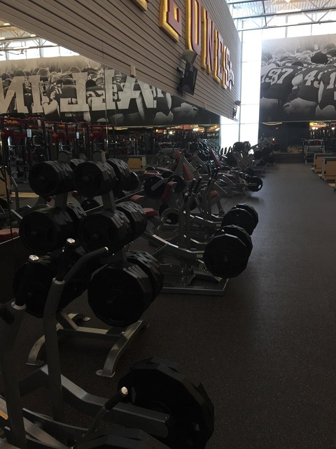 Iowa State Weight Room