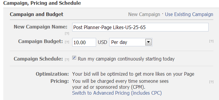 how to create a pay per click ad on facebook