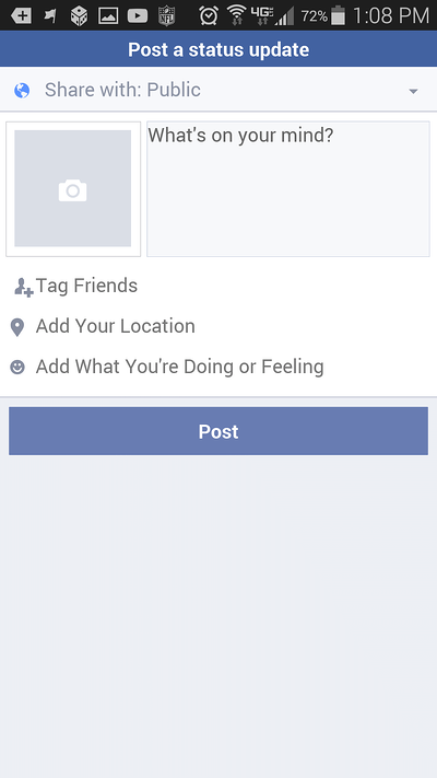 how to change newsfeed to most recent on facebook app