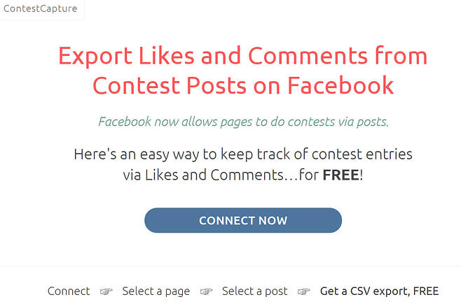 how to run a facebook giveaway with another page