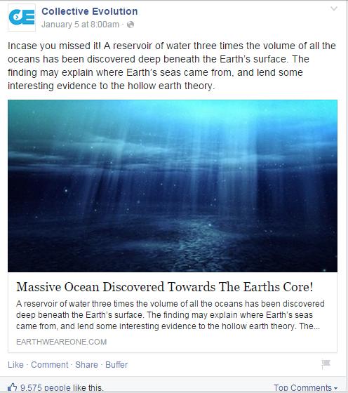 massive ocean underground