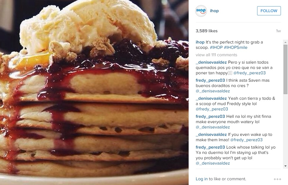 Visual Content Marketing: Ihop