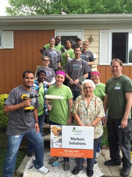 Markon Participates in National Rebuilding Day