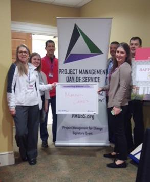 MarkonCares Volunteers at 2018 Project Management Day of Service