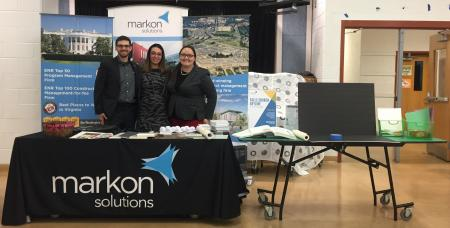 Markon Solutions Supports Middle School STEAM Night