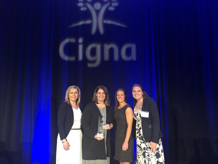 Markon Wins Cigna Outstanding Culture of Well-being Award