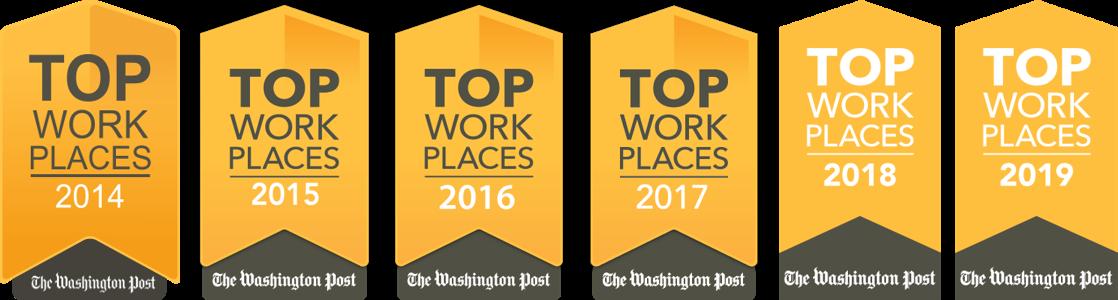 The Washington Post Names Markon Solutions a 2019 Top Washington-Area Workplace