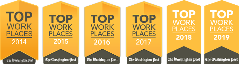 The Washington Post Names Markon Solutions a 2019 Top Washington-Area Workplace