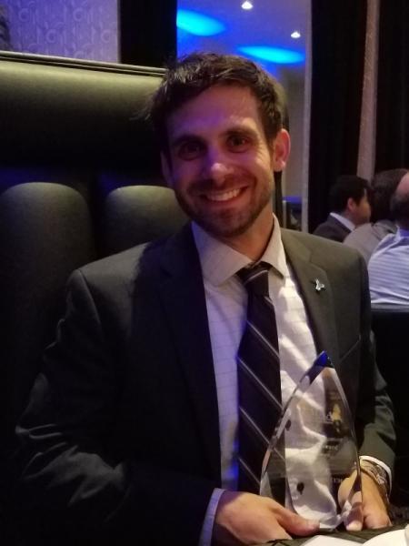 Markon's Eric Hammerschmidt Recognized for Construction Management Excellence