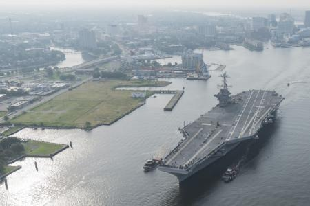 The U.S. Navy is Leading the Way on Sea Level Rise