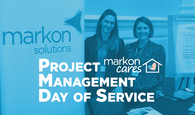 MarkonCares Team Volunteers for 2019 Project Management Day of Service