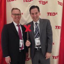 Markon Attends TEDxTysons