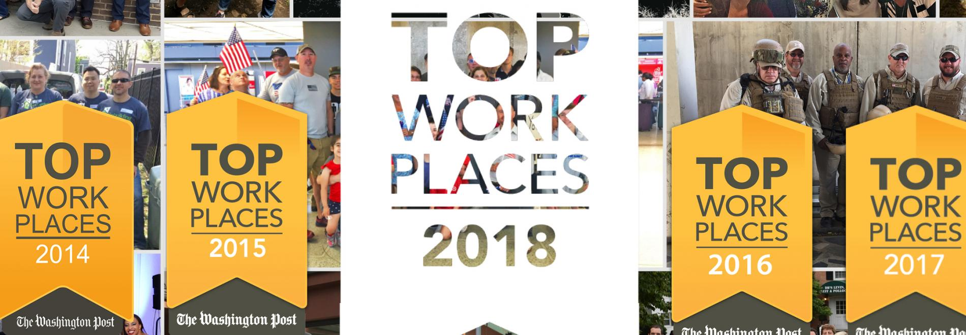 Markon Solutions Named a Washington Post Top Workplace for Fifth Consecutive Year
