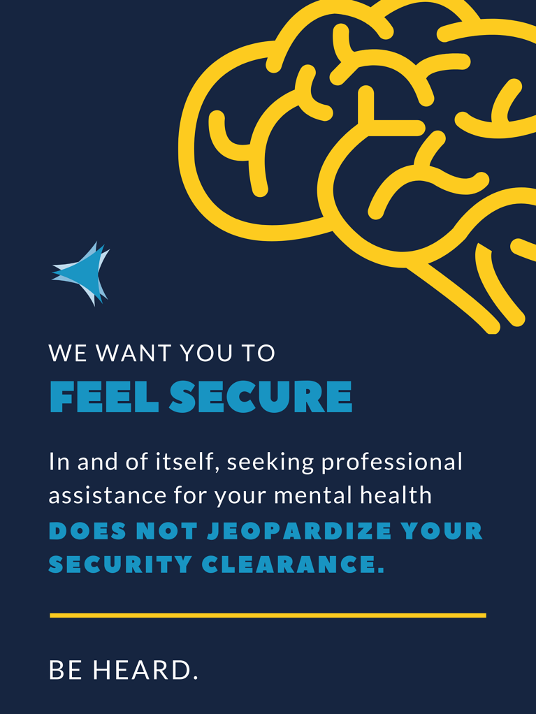 Breaking the stigma of Mental Health as it relates to your Security Clearance
